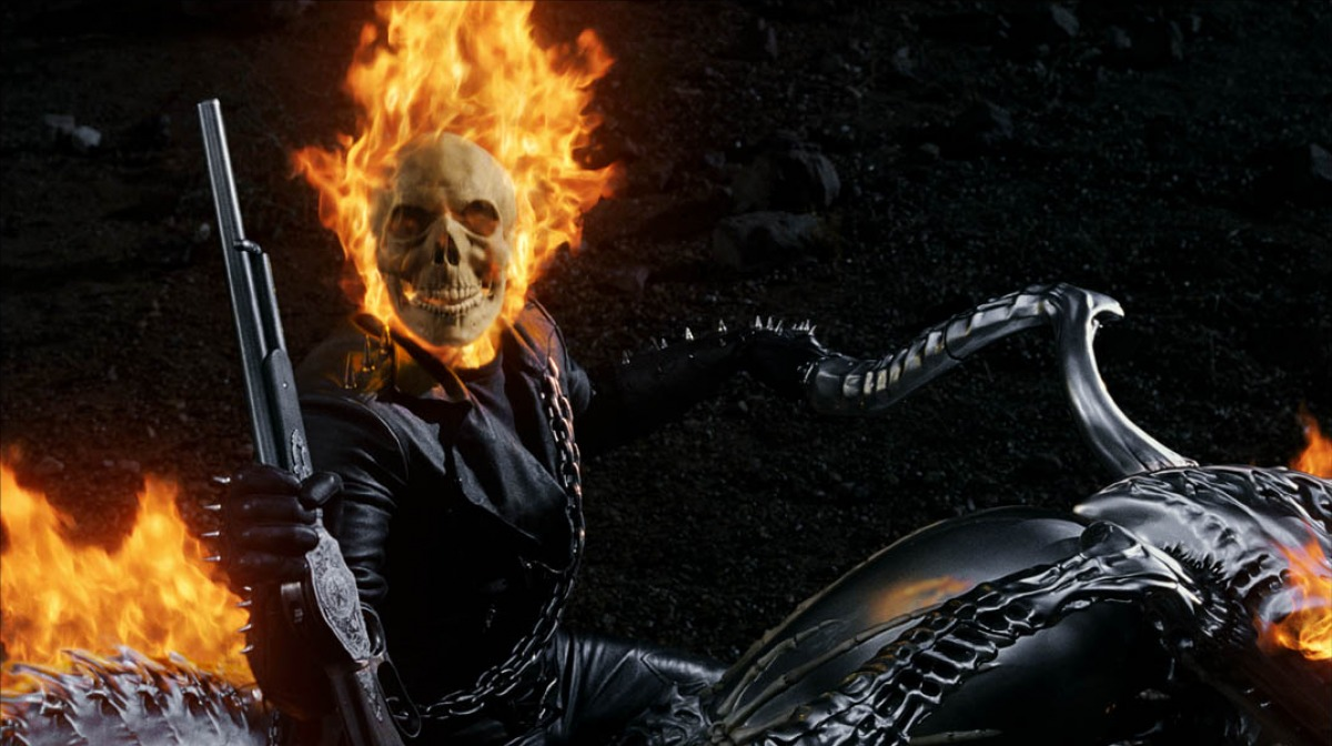 Comic world: Ghost Rider (2007)